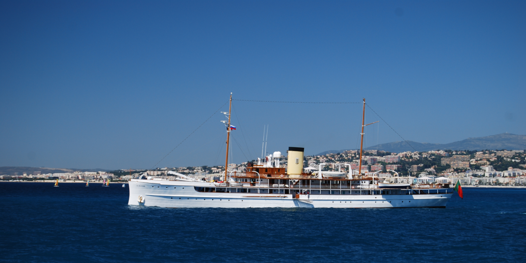 SS Delphine: the last big steam yacht